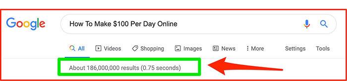 $100 Per Day Google Search