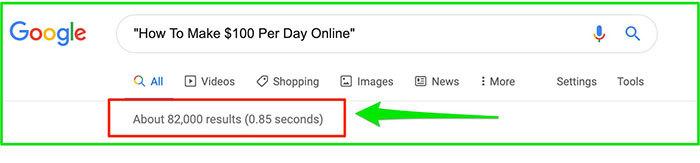 Refined Google Search
