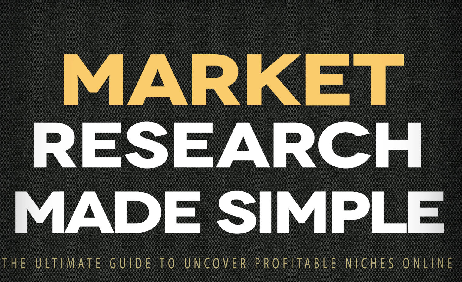 Market Research made Simple